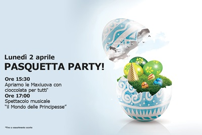 pasquetta party al tiare shopping