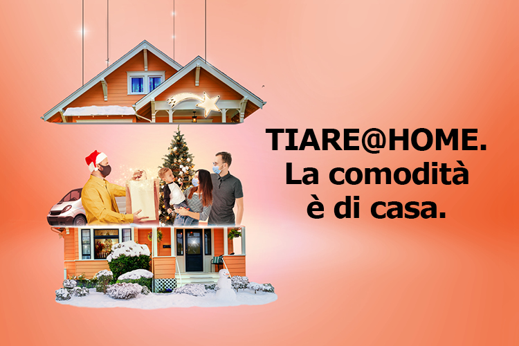 Tiare at Home - Consegna a domicilio